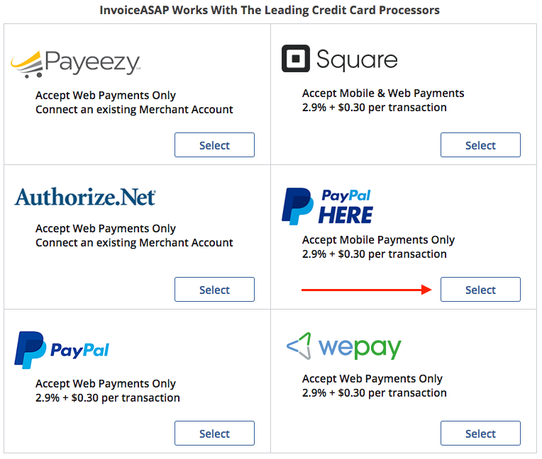 Mobile Payments How To Link Your PayPal Here Account With - Invoice asap paypal