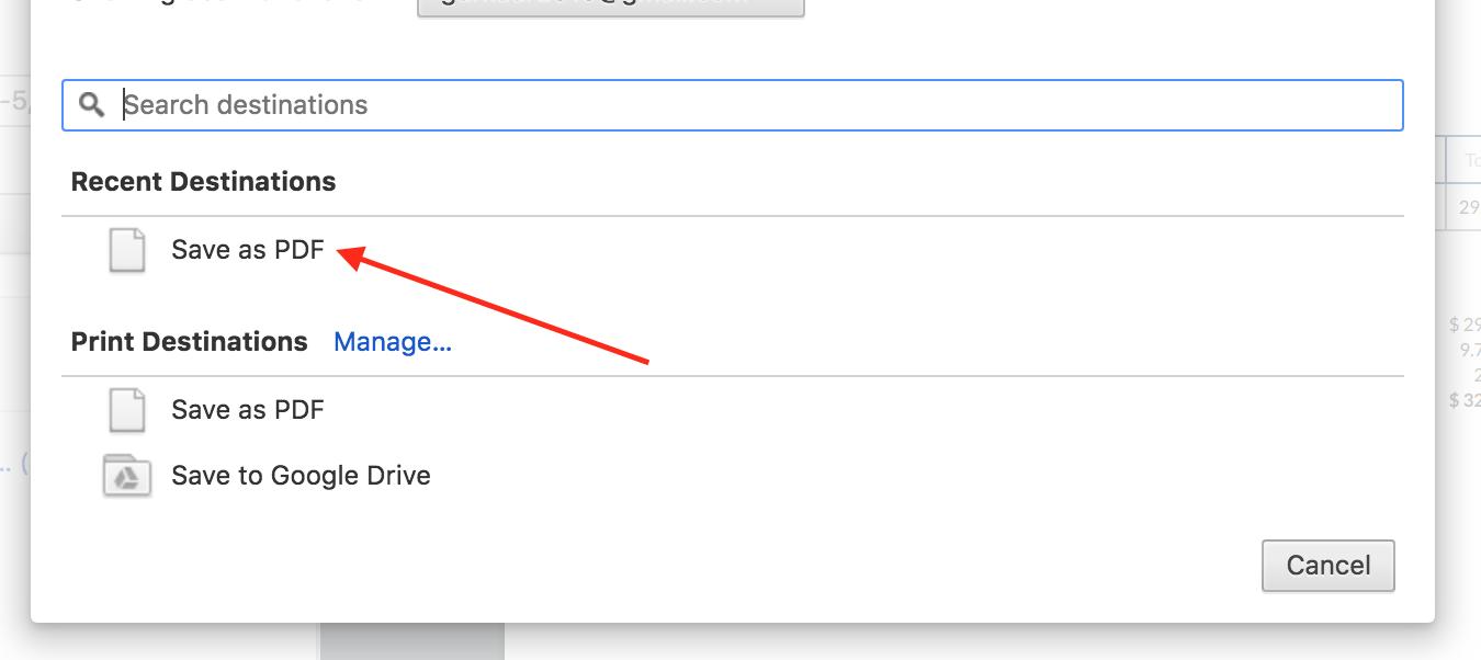 Web Dashboard: How Do I Create a PDF of the Invoice